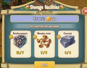 Golden Frontier Storage Facilities Stage 3