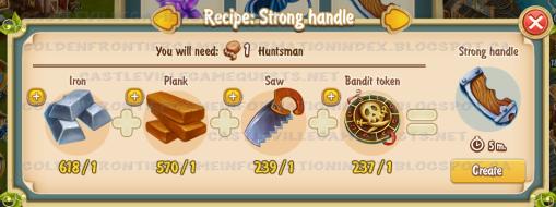 Golden Frontier Strong Handle Recipe (workshop)