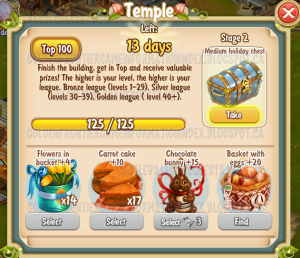 Golden Frontier Temple Stage 2