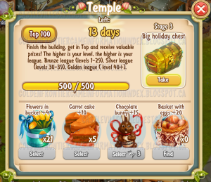 Golden Frontier Temple Stage 3
