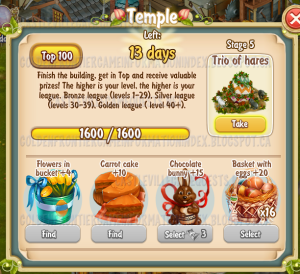 Golden Frontier Temple Stage 5