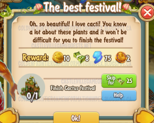 Golden Frontier The Best Festival Quest