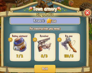 Golden Frontier Town Armory Stage 2