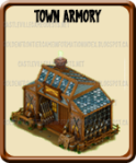 Golden Frontier Town Armory