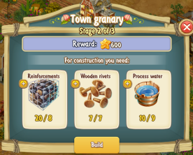 Golden Frontier Town Granary Stage 2