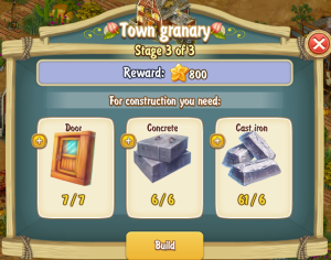 Golden Frontier Town Granary Stage 3