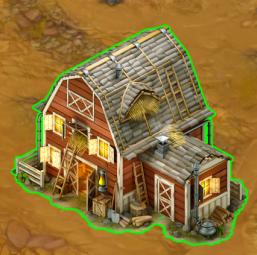Golden Frontier Town Granary