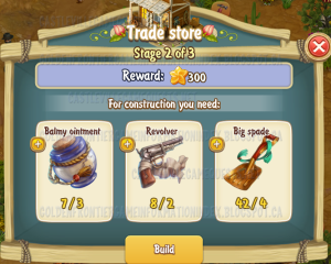 Golden Frontier Trade Store Stage 2