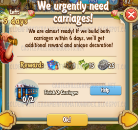 Golden Frontier We Urgently Need Carriages Quest