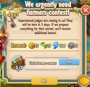Golden Frontier We Urgently Need Farmer's Contest Quest