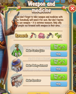 Golden Frontier Weapon and Medicine Quest