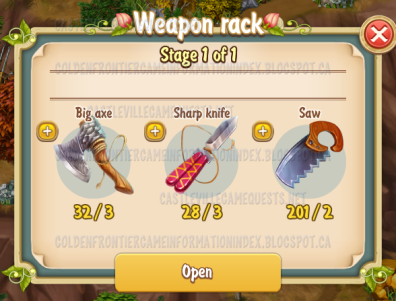 Weapon Rack 2 Stage 1