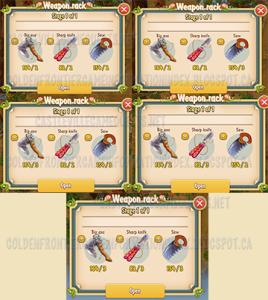 Weapon Racks
