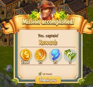 captain mission