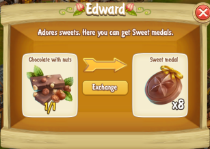 Edward Chocolate with Nuts