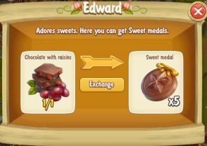 Edward Chocolate with Raisins