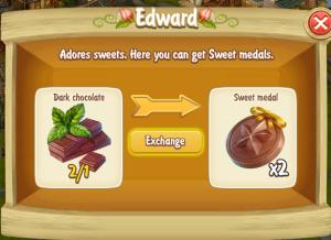 Edward Dark Chocolate