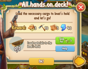 Golden Frontier All Hands on Deck Quest