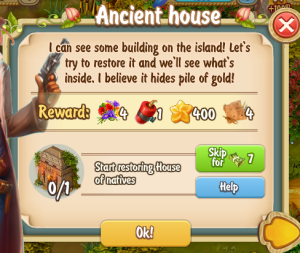 Golden Frontier Ancient House Quest