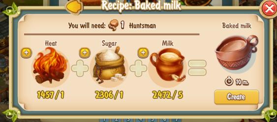 Golden Frontier Baked Milk Recipe (kitchen)