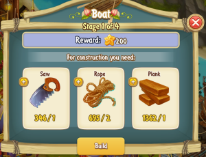Golden Frontier Boat Stage 1