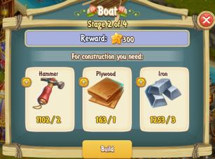 Golden Frontier Boat Stage 2