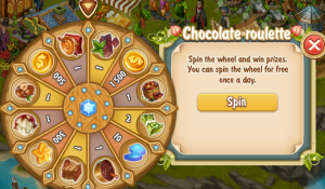 Golden Frontier Chocolate Roulette
