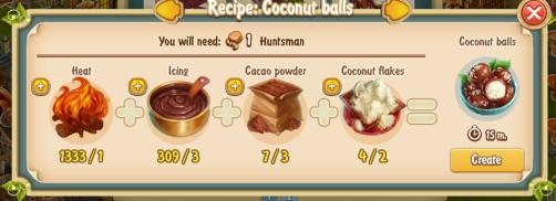 Golden Frontier Coconut Balls Recipe (confectioner's shop)