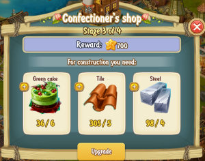 Golden Frontier Confectioner's Shop Stage 3
