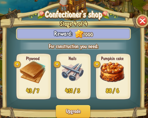 Golden Frontier Confectioner's Shop Stage 4