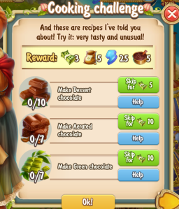 Golden Frontier Cooking Challenge Quest