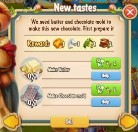 Golden Frontier New Tastes Quest