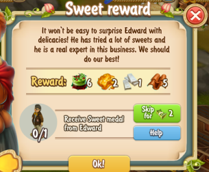 Golden Frontier Sweet Reward Quest