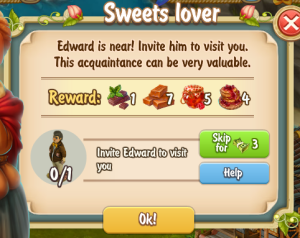 Golden Frontier Sweets Lover Quest