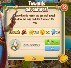 Golden Frontier Towards Adventures Quest
