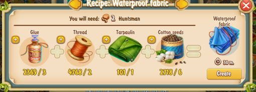 golden-frontier-waterproof-fabric-recipe-workshop