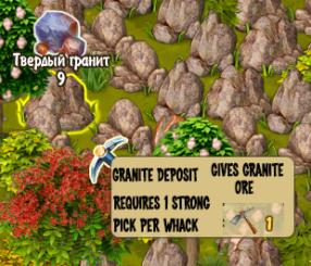 Granite Deposit