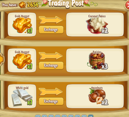 New Trading Post items