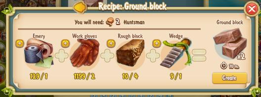 Golden Frontier Ground Block Recipe (workshop)