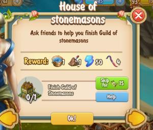 Golden Frontier House of Stonemason's Quest