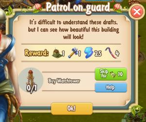 Golden Frontier Patrol on Guard Quest