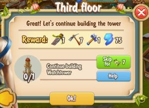Golden Frontier Third Floor Quest
