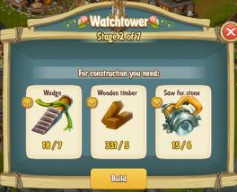 Golden Frontier Watch Tower Stage 2