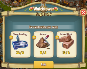 Golden Frontier Watch Tower Stage 3