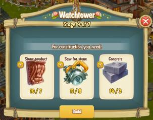 Golden Frontier Watch Tower Stage 4