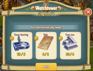 Golden Frontier Watch Tower Stage 5