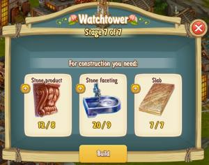Golden Frontier Watch Tower Stage 7