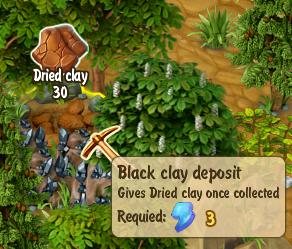 Black Clay Deposit