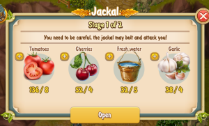 Brown Jackal Stage 1