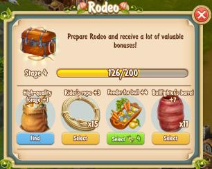 Golden Frontier Rodeo Stage 4
